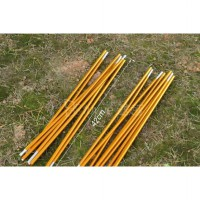 Frame Tenda - 0.8cm Aluminum alloy golden total length 350cm(3.5M) Tent pole