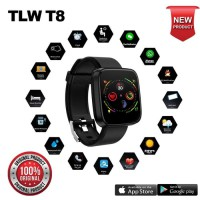 Smartwatch Smart Watch TLW T8 Original 100% Smartband Smart Band Support Android dan iOs