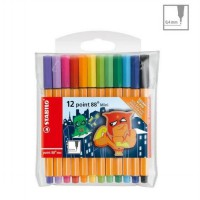 STABILO Pen 68 Mini - isi 12 Warna