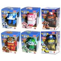 Figur Robocar Poli Transform 1set 6pcs