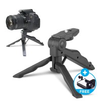 Mini Tripod Multifungsi 2 In 1 (Tripod/Tongsis) For DSLR,Xiaomi Yi,Camera Digital   Free Holde