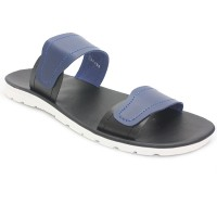 Dr. Kevin Sendal Pria Flat Men Sandals 97199 - Blue 4.7