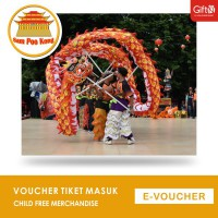 Sam Poo Kong - Voucher Tiket Masuk Child Free Merchandise