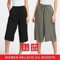 (POP UP AIA) Celana Kulot Relaco Uniqlo 3/4 Pants available in 3 colours