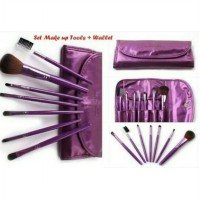 [DOMPET] KUAS MAKE UP SET BANYAK WARNA GOOD QUALITY / COSMETIC BRUSH SJ0066
