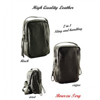 BOURZU TERRY High Quality Leather