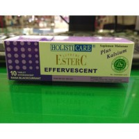 ESTER C EFFERVESCENT ISI 10 TABLETS RASA BLACKCURRANT