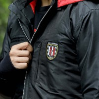 Black Bali Utd Wind Breaker