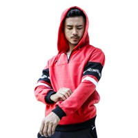 Red Sweatshirt Hoodie Fleece