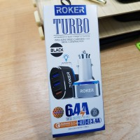 Roker Saver Turbo Car Charger 6.4A QC 3.0