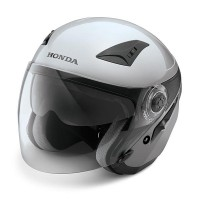 Honda Luxury Helmet Silver XL