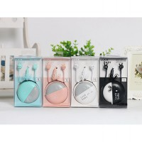 Headset Luck Baby With Pouch And Deep Bass Stereo Kado Gift