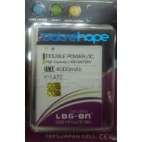 Baterai Battery Double Dobel Power Log-on Logon Mito Fantasy Fly A72 ( BA-00099 ) 4000Mah