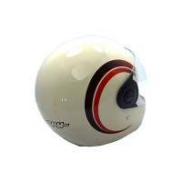 Helmet Scoopy Assy Retro Cream