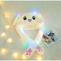 Dancing Rabbit Bunny Hat Led Tik Tok / Topi Kelinci Korea/ Korean Style