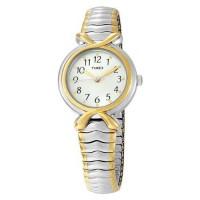 [poledit] Timex Women`s Two-Toned Watch With White Dial (R1)/2349854