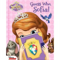Terlaris Buku Edukasi Anak Disney Sofia the First - Guess Who, Sofia! - Lift the Flap Board Boo