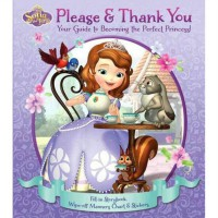 Terlaris Buku Edukasi Anak Disney Sofia the First Please & Thank You
