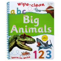 Terlaris Buku Edukasi Anak Big Animals Learn to Write Wipe Clean Activity Book