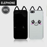 CASING COVER HP JELLY SOFTCASE WITH CAT EARS IPHONE 5/5S