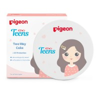 (POP UP AIA) PIGEON Two Way Cake 14Gr - Innocent White