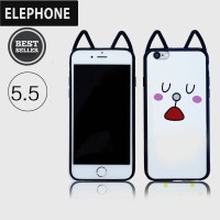 CASING COVER HP JELLY SOFTCASE WITH CAT EARS IPHONE 6Plus