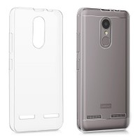 Lenovo K6 Power Case Ultra Thin TPU Softcase (Clear Transparan)