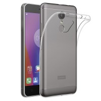 Lenovo K6 Note Case Ultra Thin TPU Softcase (Clear Transparan)