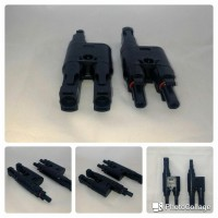MC4 T Branch Connector waterproof - Solar MC4 Connector