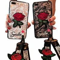 Case Oppo bunga rose