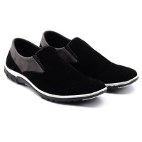 Dr.Kevin Men Casual Slip On 13275 - Black