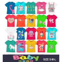 Promo 17-an Kaos Anak Boy / Girl - Usia 2th (motif random)