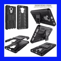 Xiaomi Redmi 4 / Redmi 4 Prime Heavy Duty Rugged Armor Stand Case Casing Cover