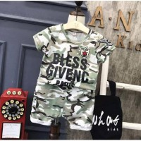 STELAN ANAK ARMY STYLE BLESS GIVENNC (RSBY-3587)