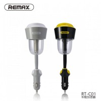 Original REMAX RT-C01 Car Humidifier Atomization Air Purifier with 2.1A Car Charger