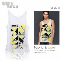 Relaxed Fit Graphic / Tank top wanita / Tank Top 3838