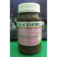 BLACKMORES PREGNANCY AND BREAST-FEEDING GOLD ISI 180 KAPSUL LUNAK