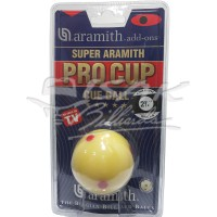 Aramith Pro Cup Cue Ball - 2.1/4' - 6 Red Dots - Bola Biliar Billiard