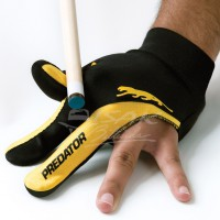 Predator 3-finger Glove - Pool Billiard - Lycra - Size L/XL