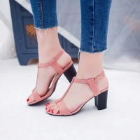 C41 SEPATU HEELS|HIGH HEELS GELANG BACK STUD TB-DO SALEM
