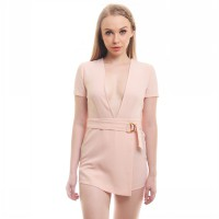 NEW COLLECTION Branded Sweet Jumpsuit in Peach/ Jumpsuit/ Baju wanita/ peach