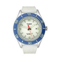 [poledit] Timex Silicone White Dial Men`s watch #T2N535 (T1)/3096245