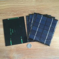 Solar Panel 2W 6V Mini  polycrystalline