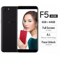Oppo F5 6GB - Full Black
