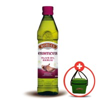 Borges Pure Olive Oil with Garlic 500 mL - FREE COOLER BAG