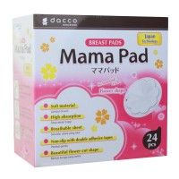 [Isi 24pcs] Mama Pad Disposable Breast Pad Bentuk Bunga | Anti Tembus & Iritasi