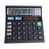 CITIZEN Calculator 12 Digit CT 512 - Replay Calculation