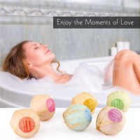 Bola Bath Bombs Salt Sabun Mandi Bathtube Bubble Essential Oil 6PCS