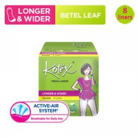 Kotex Fresh Liner Longer & Wider Daun Sirih (8 pcs)