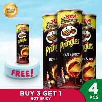 Pringles Hot & Spicy 107gr Package (4 Pcs)